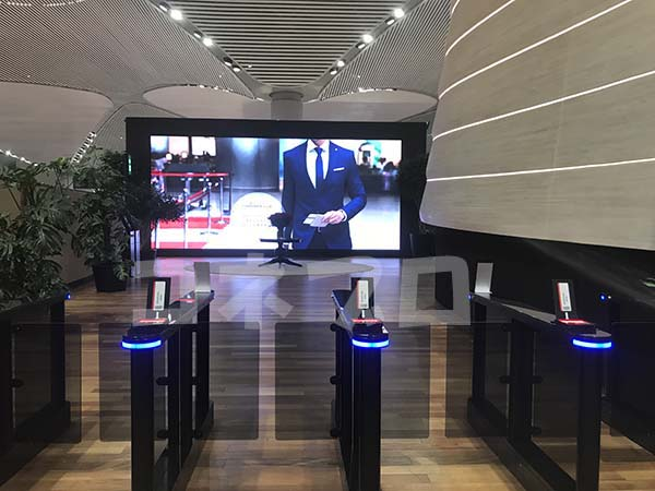 イスタンブール新空港 国際線ラウンジ入口