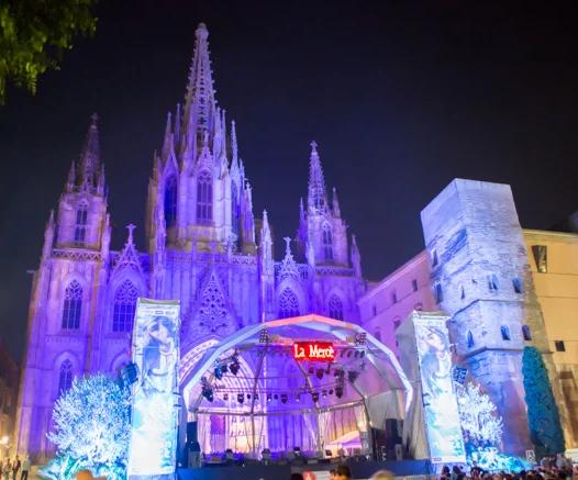 メルセ祭り(サグラダファミリア)